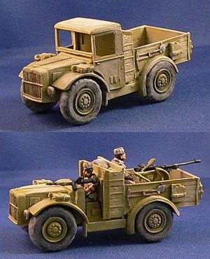 Italian AS37 Sahariana Truck (1) (1/56th)