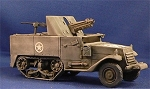 T30 75mm Howitzer halftrack motor carriage US Army or USMC (1/56th)