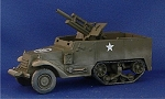 T19 105mm Motor Carriage Halftrack (1/56th)