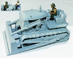 U.S. D7 Military Bulldozer with driver (1/56th)