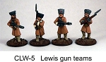 Czech Legion Lewis Gun Teams (4 figs)