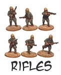 CB-IJAPara03  Imperial Japanese Army Paratroopers - Rifles  (6)