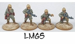 CB-IJAPara05  Imperial Japanese Army Paratroopers - LMGs (4)
