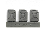 Accessories-AFV Stowage German Gas Cans (9 Pack)(1/56th)