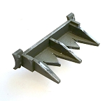 AFV Hedge Row Cutters A  (2 Pack)(for 1/56th Sherman tanks)