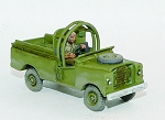 CB-MOD36  Bush Wars Mine Protected Land Rover (Armadillo)(1/56th)