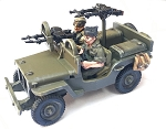 CB-NABV05  British-AFV Willy's Jeep SAS Europe includes crew & stowage (1/56th)(New version)