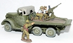 CB-PWJV26  Type 94 AA Gun Truck   Includes Driver, AA Gun and 3 Gun Crew (1/56th)