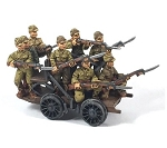 CB-PWJV27  Japanese Railway Handcar and Troops(8) (1/56th)