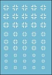 Decals: German White Cross Markings for tanks and vehicles