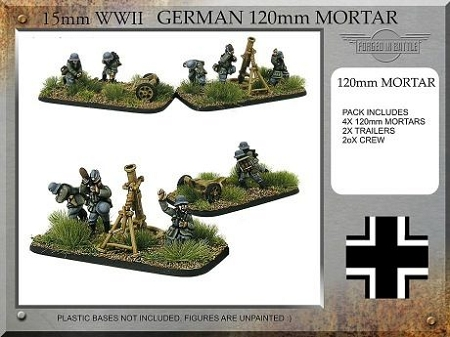 G-INF-04 German 120mm Mortar Teams (15mm WW2)