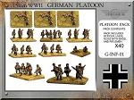 G-INF-01 German Infantry Platoon (15mm WW2)