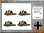 G-INF-03 German 8cm Granatwerfer 34 Mortar Teams (15mm WW2)