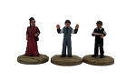 Dead Man's Hand Western Bank Figure Set Miniatures (3)
