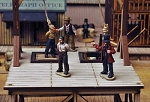 Dead Man's Hand Western Hangmans Civilian Set Miniatures (4)