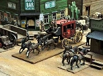 Dead Man's Hand Western Stage Coach Set