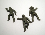 Dead Man's Hand Western Desperado Casualty Miniatures (3)