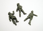 Dead Man's Hand Western Lawmen Casualty Miniatures (3)