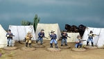 Dead Man's Hand Western 7th Cavalry Gang Miniatures