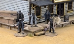 Dead Man's Hand Western Kelly Gang Miniatures