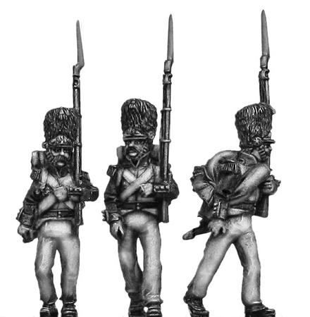 "Duchy of Warsaw – Grenadiers in Campaign Dress ""Scruffy"" (3 figures)"