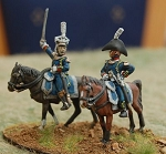 MUR-NDW090  Mounted Colonels (2 different)