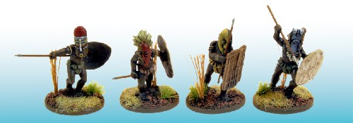 NS-A5003 - Jungle Cannibals in Ritual Masks (4)