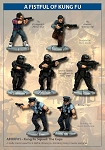 AFOKF01 - Kung Fu Squad: The Cops (28mm)