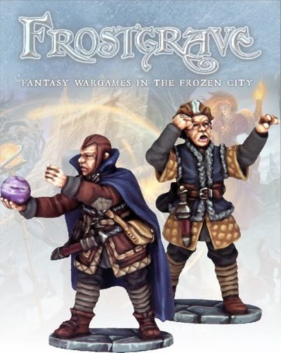 Frostgrave - FGV107 - Soothsayer & Apprentice