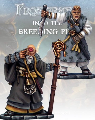 Frostgrave - FGV114 - Soothsayer & Apprentice II