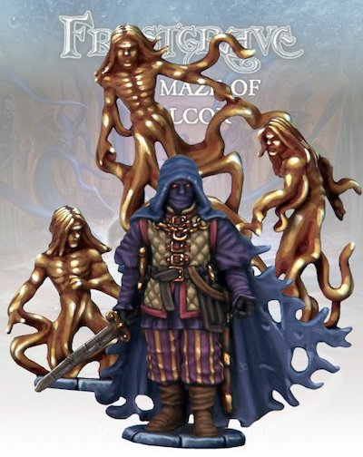 Frostgrave FGV412 - The Wraith of Malcor & Advisory Council