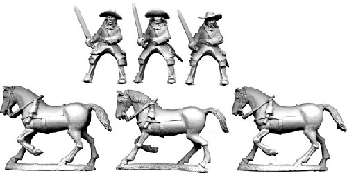 Special Order: GS26 - Cavalry in Buff Coat