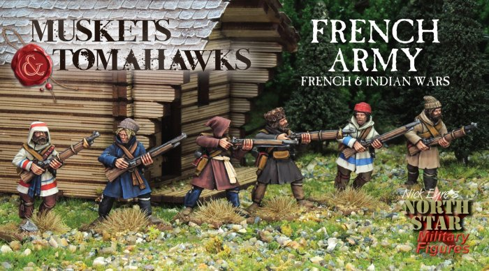 NS-MTB02 - French Army - French and Indian Wars (31)  (PREORDER)