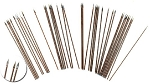 50mm long wire spears (approx 40 pc)(limited inventory)