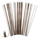 100mm long wire spears (flat spear head) ( 20 pc)