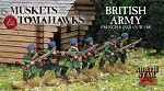 NS-MTB01 - British Army - French and Indian Wars (33)  (PREORDER)