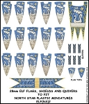 ELF(NS)2 - Elf Banner and Shields 2 Banner & Shield Transfers from Little Big Men Studios