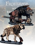 Frostgrave - FGV218  Gnoll Tracker and War Hyena