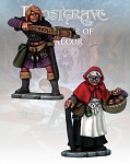Frostgrave FGV244 - Apothecary & Markswoman II