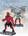 Frostgrave - FGV302 - Imp Demon & Minor Demon