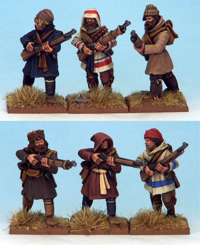 NS-MT0013 - French Canadian Militia 1 (6)  (PREORDER)