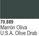 Vallejo Paint - USA Olive Drab