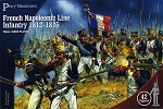 Perry Miniatures - French Line Infantry 1812-1815 Box (hard plastic)