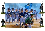 Perry Miniatures - Hard Plastic 28mm Prussian Napoleonic Infantry 1813-15 Box