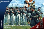 Perry Miniatures - Hard Plastic 28mm Russian Napoleonic Infantry 1809-14 Box