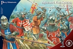 Perry Miniatures Agincourt Foot Knights 1415-1429  (Hard Plastic)