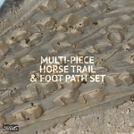 Rick's Scenics Horse Trail & Foot Path Set (1