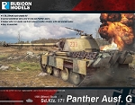 Panther Ausf. G (1/56th hard plastic kit)