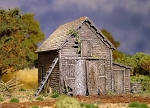 Ramshackle Barn 1/56th (Hard Plastic)