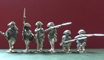 BG-AWI055  Continental Infantry (6) - Skirmishing